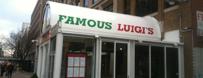 Famous Luigi's is one of Local restaurants with 50+ Years.