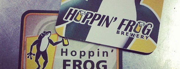Hoppin' Frog Brewery is one of Breweries in Northeast Ohio.