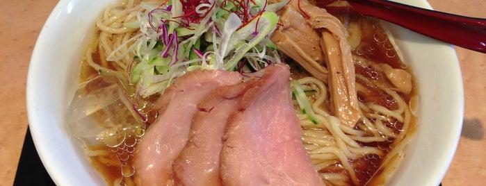 うから家から is one of The 麺.