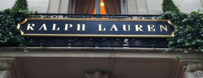 Ralph Lauren is one of Paris, FR.