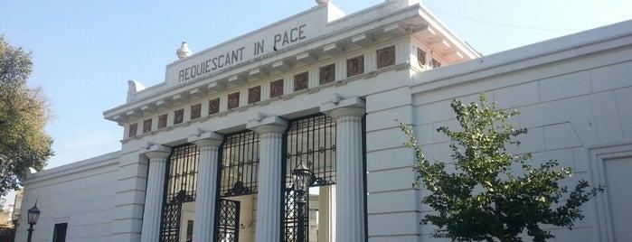 Cementerio de la Recoleta is one of Buenos Aires.