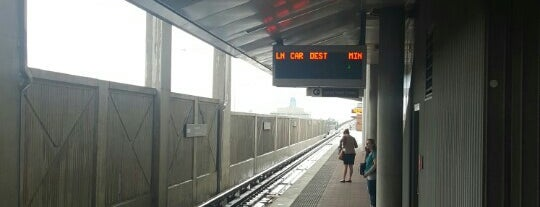 Greensboro Metro Station is one of WMATA Train Stations.