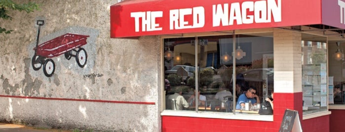 The Red Wagon is one of Great Breakfast Joints in Vancouver.