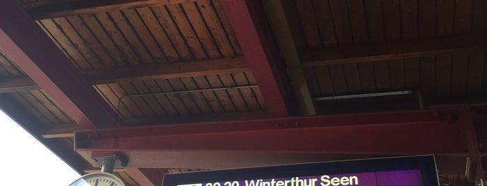 Bahnhof Neuenhof is one of Bahnhöfe Top 200 Schweiz.