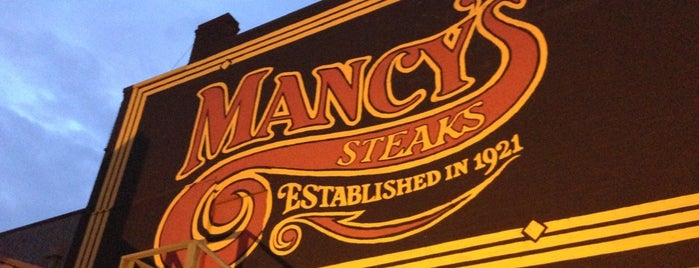 Mancy's Steakhouse is one of Places in the mighty #toledo area. #ttown #visitUS.