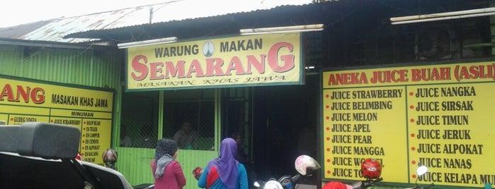 Warung Makan Semarang Khas Jawa is one of Top 10 restaurants when money is no object.