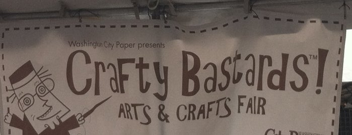 Crafty B Craft Show is one of District of Art.