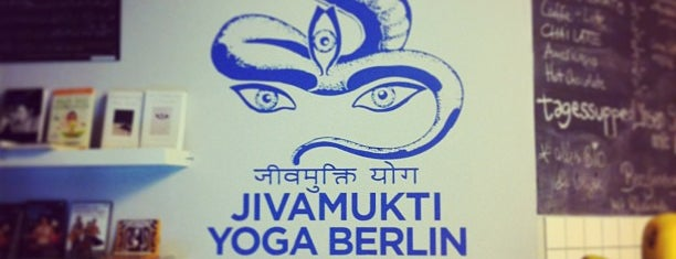 Jivamukti Yoga is one of Vegetarian & Vegan Restaurants in Berlin.