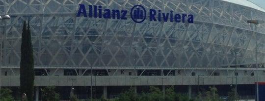 Allianz Riviera | Grand Stade de Nice is one of Badge list.