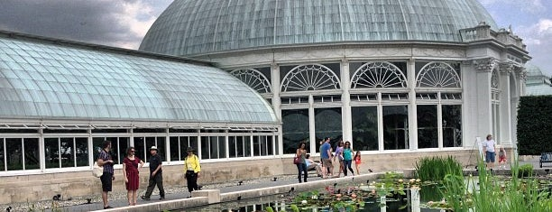 New York Botanical Garden is one of NYC insider's tips.