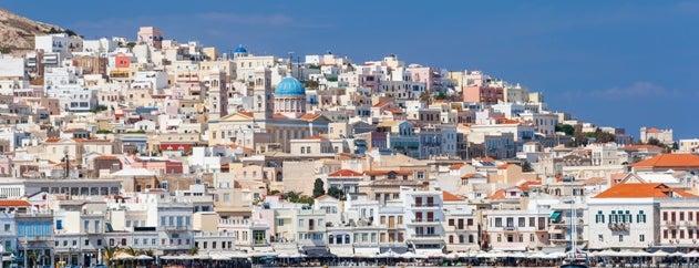 Σύρος (Syros) is one of Visit Greece's tips.