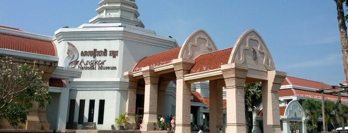 Angkor National Museum is one of Siem Reap Sep2012.