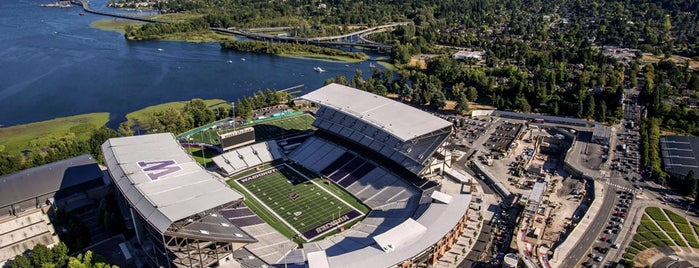 Husky Stadium is one of Pac-12 Football.