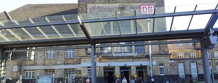 Mönchengladbach Hauptbahnhof is one of Ausgewählte Bahnhöfe.