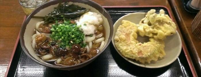 根っこうどん 本店 is one of めざせ全店制覇~さぬきうどん生活~ Category:Ramen or Noodle House.