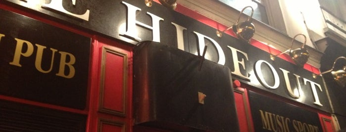 Hideout is one of Bars / Pubs.