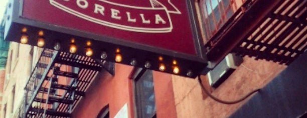 Sorella is one of (restaurants) in NYC.