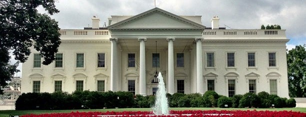 The White House is one of Historic Sites.