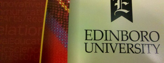 Edinboro University is one of Frequent <3.