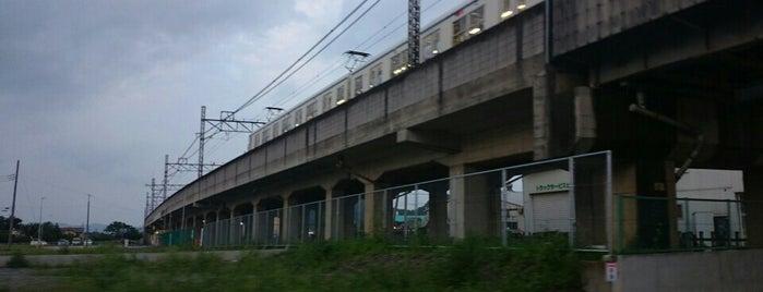 Yashū-Yamabe Station is one of 東武伊勢崎線.