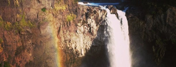 Snoqualmie Falls is one of Things to do in Washington.