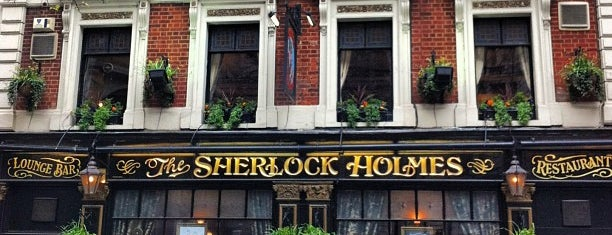 The Sherlock Holmes is one of Favorite Food.