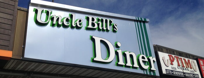 Uncle Bill's Diner is one of Greasy Spoon Badge.