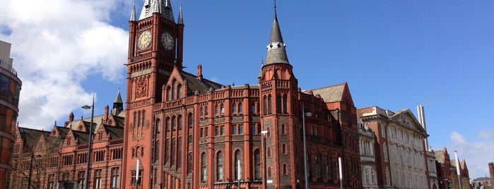 University of Liverpool is one of Liverpool.