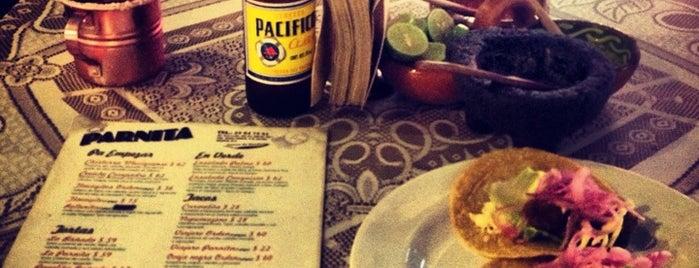 El Parnita is one of Lo que no me puede faltar antes de morir.
