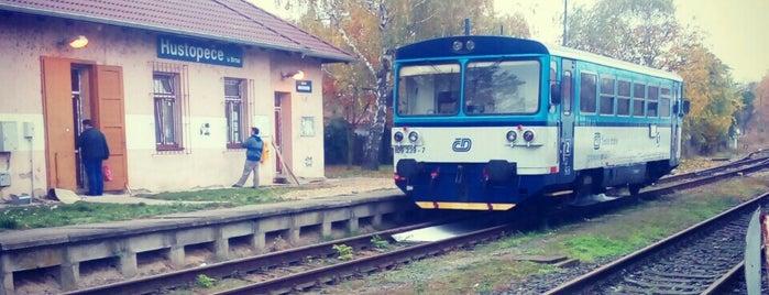Železniční stanice Hustopeče u Brna is one of Železniční stanice ČR: H (3/14).