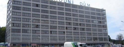 Obchodní dům PRIOR is one of Baťa ve Zlíně.