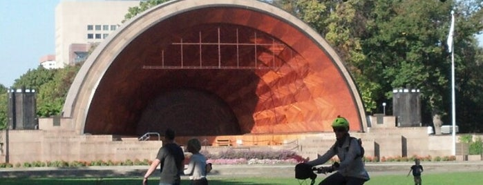 DCR Hatch Memorial Shell is one of Bean Town Shops & To-Dos.