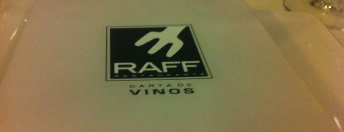 Restaurante Raff is one of restaurantes.
