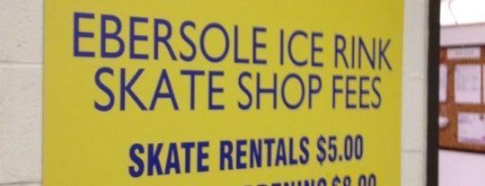 Ebersole Ice Rink is one of Hockey.