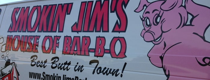 Smokin' Jim's House of Bar-B-Q is one of Top 10 restaurants when money is no object.