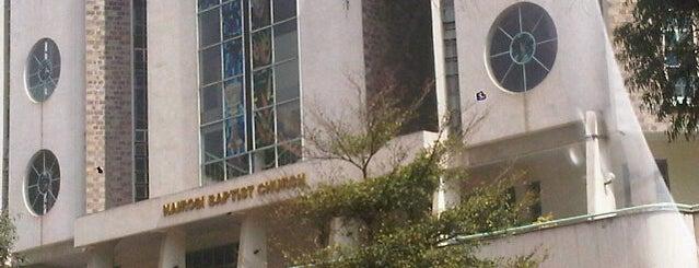 Nairobi baptist church is one of Cool Churches.