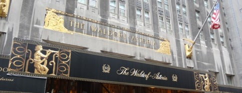 Waldorf Astoria New York is one of Architecture - Great architectural experiences NYC.