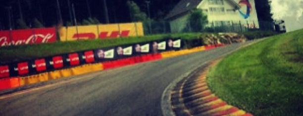 Circuit de Spa-Francorchamps is one of All-time favorites in Belgium.