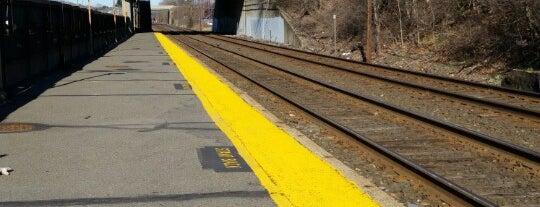 MBTA West Newton Station is one of work.