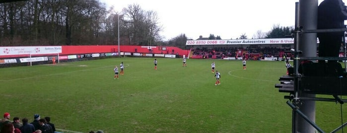 Welling Stadium is one of Football grounds in and around London.
