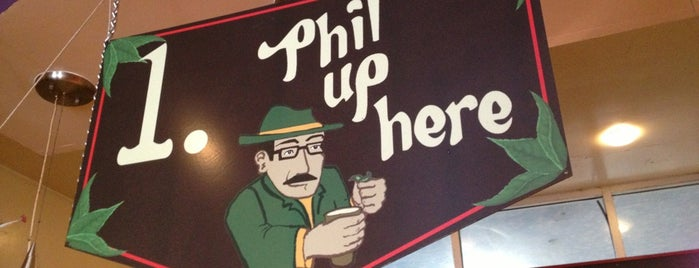 Philz Coffee is one of SF to-do.