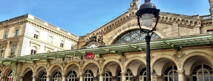 Paris Est Railway Station is one of Hani.