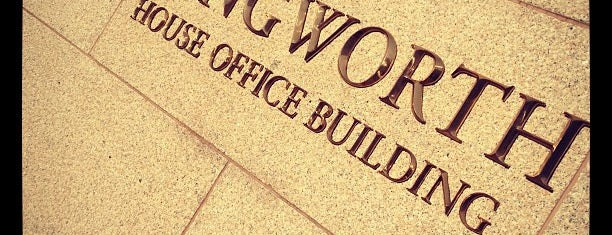 Longworth House Office Building is one of Badge list.