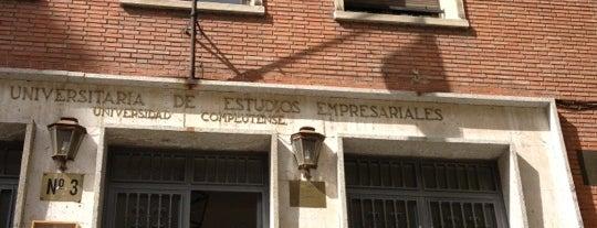 Cafeteria Universidad Complutense Estudios Empresariales is one of Tania.