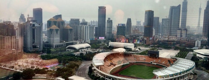 Guangzhou International Trade Centre is one of Top 10 Tallest Buildings Of The World.