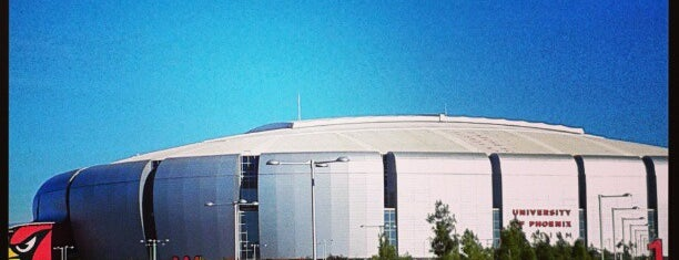 University of Phoenix Stadium is one of Stadiums.