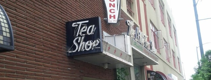 The Little Tea Shop is one of DINERS DRIVE-IN & DIVES 3.