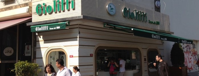 Giolitti is one of Istambul food.