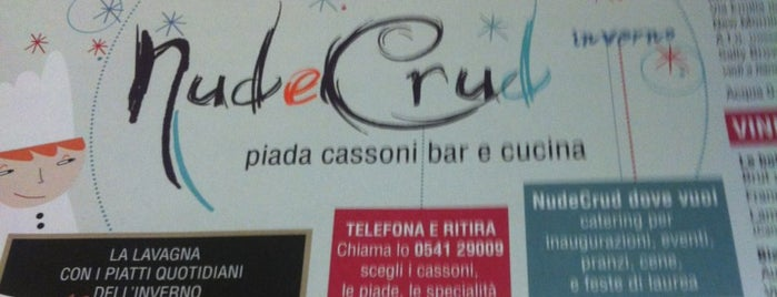 Nud e Crud is one of Riviera romagnola.
