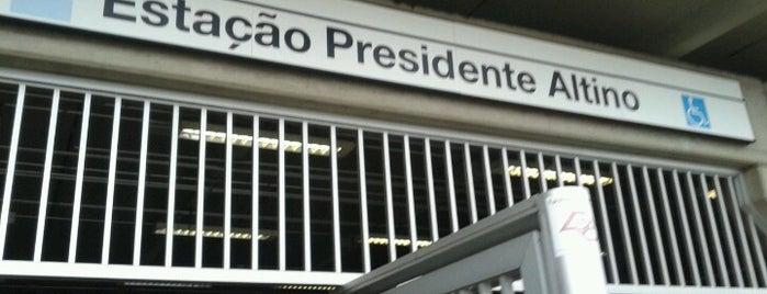 Estação Presidente Altino (CPTM) is one of Transporte.